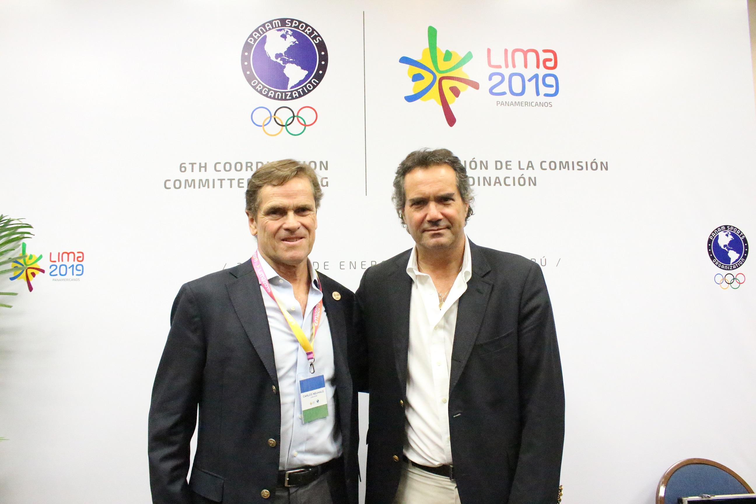 Carlos Neuhaus y Neven Ilic - Principal
